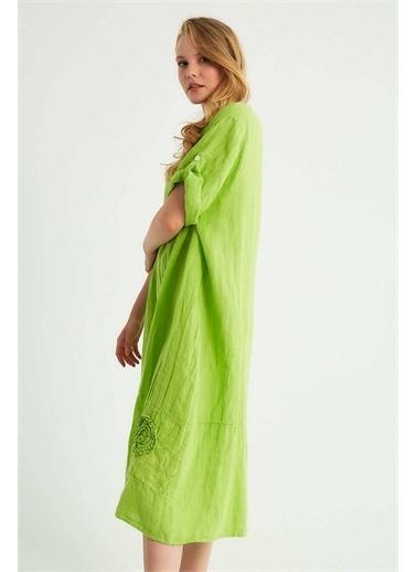 Robin Elbise Yeşil